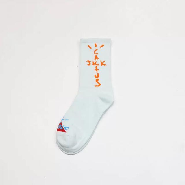 高品質 吸汗速乾TRAVIS SCOTT ナイキ 靴下 3点セット メンズのレッグウェア(ソックス)の商品写真