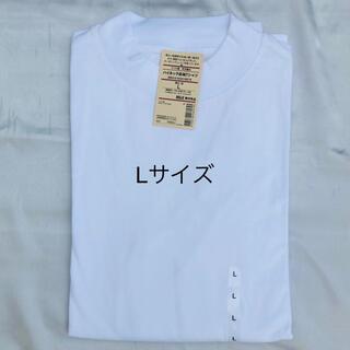 MUJI (無印良品) - 【無印良品】インド綿天竺編みハイネック長袖Tシャツ 紳士L