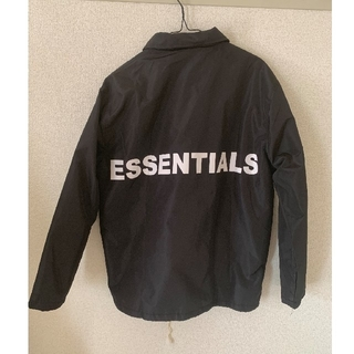 FEAR OF GOD - FEAR OF GOD ESSENTIALS  JACKET コーチジャケット