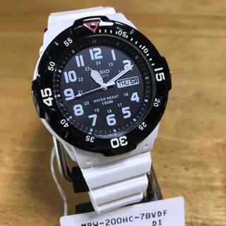 カシオ(CASIO)の新品✨カシオ CASIO 海外モデル 腕時計 MRW-200HC-7B(腕時計(アナログ))
