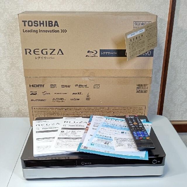 東芝(トウシバ)のTOSHIBA 東芝HDD レグザ タイムシフトサーバー DBR-M490 スマホ/家電/カメラのテレビ/映像機器(ブルーレイレコーダー)の商品写真
