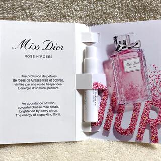 ディオール(Dior)のディオール ミスディオール ローズ&ローズ オードゥトワレ 1ml(香水(女性用))
