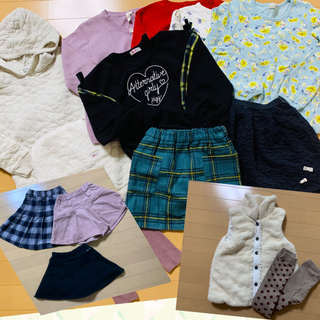 Branshes - 130センチ 女の子 秋冬まとめ売り 11枚