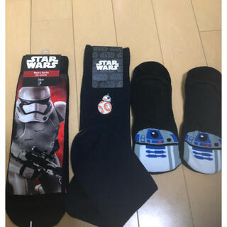 Disney - 未使用 スターウォーズ 靴下 3足セット