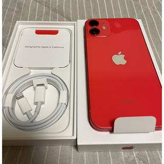 Apple - Apple care+付 iPhone 12mini(PRODUCT)RED
