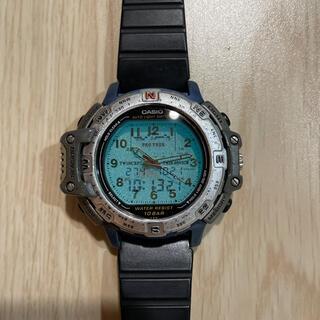 カシオ(CASIO)のCASIO PROTREK デュアルフェイス 腕時計(腕時計(デジタル))