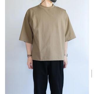 ムジルシリョウヒン(MUJI (無印良品))の40パーセントオフ! 新品Muji Labo超長綿天竺編みクルーネックTシャツ(Tシャツ/カットソー(七分/長袖))