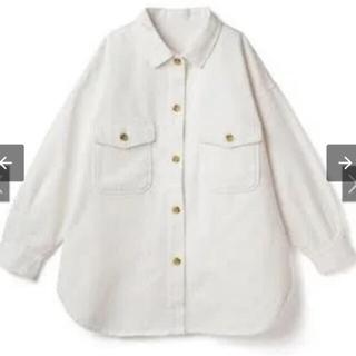 グレイル(GRL)のビッグシルエットカラーツイルCPOシャツジャケット(Gジャン/デニムジャケット)