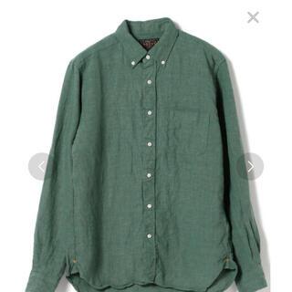 ビームス(BEAMS)のBEAMS PLUS リネンボタンダウンシャツ(シャツ)