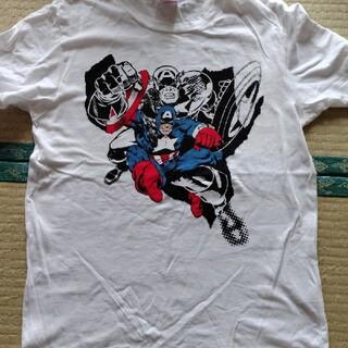 マーベル(MARVEL)のMARVELキャプテンアメリカ半袖TシャツSサイズ(Tシャツ/カットソー(半袖/袖なし))