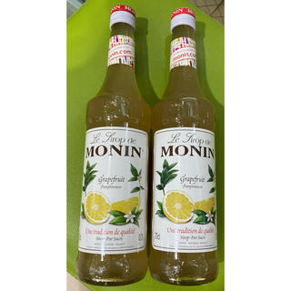 モナン monin グレープフルーツシロップ 2本(フルーツ)