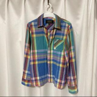 フィス(FITH)のFITH  フィス チェック柄 シャツ 140(Tシャツ/カットソー)