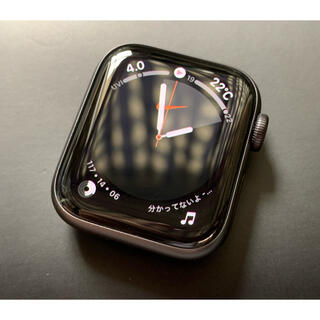 アップルウォッチ(Apple Watch)のApple Watch SE NIKEモデル 40mm(その他)