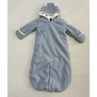 ベビーギャップ(babyGAP)のbaby gap クマ耳 ジャンプスーツ 80(ジャケット/コート)