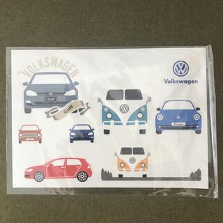 フォルクスワーゲン(Volkswagen)のフォルクスワーゲン ステッカー(ノベルティグッズ)