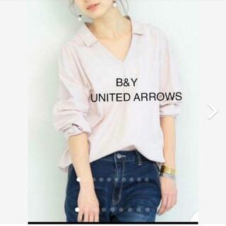 ユナイテッドアローズ(UNITED ARROWS)のB&Y ユナイテッドアローズ スキッパーボリュームシャツ(シャツ/ブラウス(長袖/七分))