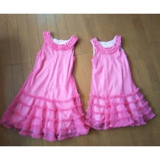 コストコ(コストコ)のドレス 130、110セット(ドレス/フォーマル)