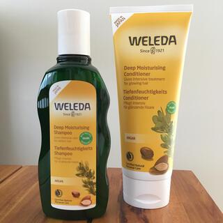 ヴェレダ(WELEDA)の Weleda アルガン シャンプー&コンディショナー (日本開発処方)(シャンプー/コンディショナーセット)