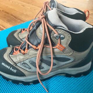 モンベル(mont bell)のmont-bell モンベル 登山靴21センチ(登山用品)