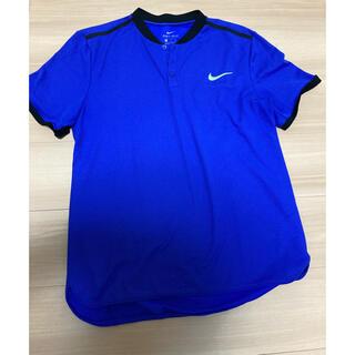 NIKE - NIKEテニス ポロシャツブルー