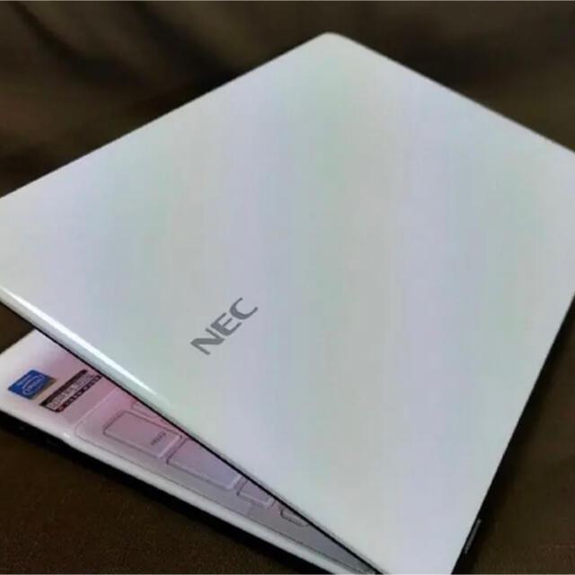 NEC(エヌイーシー)の初心者OK/爆速4コア/第3世代 i7/高速 SSD/ノートパソコン/美品 スマホ/家電/カメラのPC/タブレット(ノートPC)の商品写真