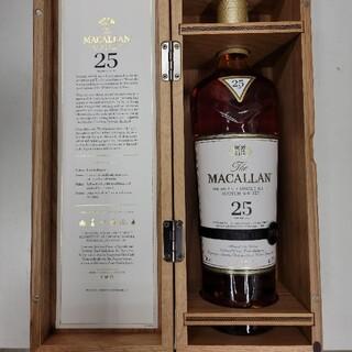 サントリー - マッカラン25年 箱付き 700ミリ