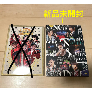 Johnny's - King & Prince ライブDVD 初回限定盤 Blu-ray