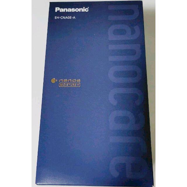 Panasonic(パナソニック)の【新品】Panasonic ナノケア ヘアードライヤー EH-CNA0E-A スマホ/家電/カメラのスマホ/家電/カメラ その他(その他)の商品写真
