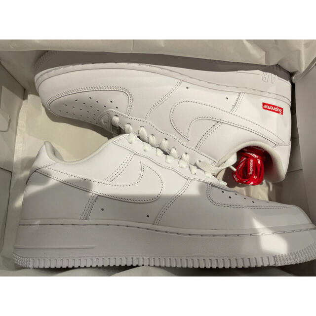 Supreme(シュプリーム)のsupreme Air Force 1 Low White メンズの靴/シューズ(スニーカー)の商品写真