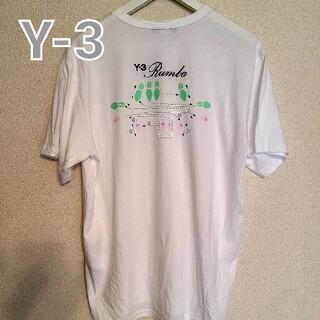 Y-3 - Y-3ワイスリーバックロゴ刺繍TシャツsizeM