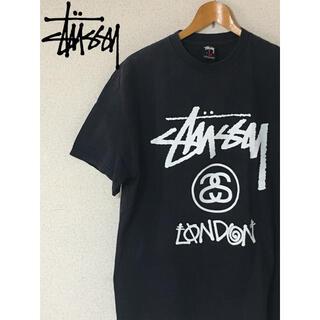 STUSSY - STUSSY ステューシー 黒 ブラック ロンドン