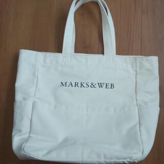 マークスアンドウェブ(MARKS&WEB)のマークスアンドウェブ コットンキャンバスショッピングバッグ(トートバッグ)