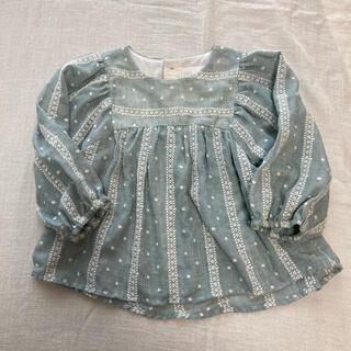 ZARA KIDS - 美品✳︎zara baby 刺繍ブラウス 80cm