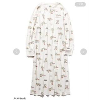新品 ジェラートピケ ジェラピケ スーパーマリオコラボ ヨッシー柄ドレス