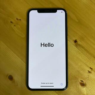 Apple - iPhone X Space Gray 64GB SIMロック解除済み
