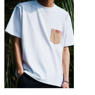 チャムス(CHUMS)の新品タグ付き CHUMS アローズ別注ポケットTシャツ Lサイズ チャムス(Tシャツ/カットソー(半袖/袖なし))
