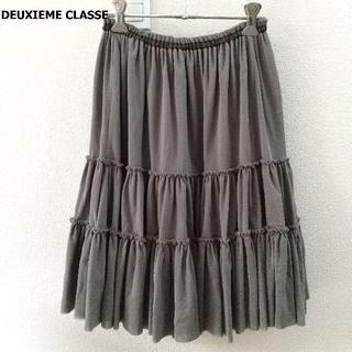 ドゥーズィエムクラス(DEUXIEME CLASSE)のドゥーズィエムクラス DEUXIEME CLASSE スカート ギャザー フレア(ひざ丈スカート)