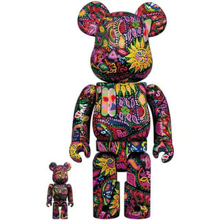 BE@RBRICK Psychedelic Paisley 100% & 400(その他)