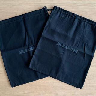 Jil Sander - JILSANDER ジルサンダー 布袋 巾着 ショッパー 2点セット
