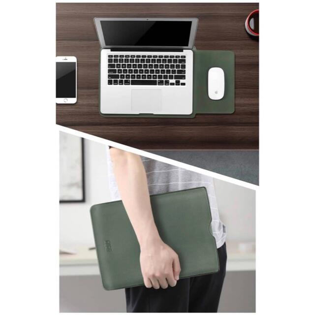 ノート パソコンケース MacBook 13インチ スカイブルー iPad スマホ/家電/カメラのPC/タブレット(その他)の商品写真
