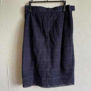 バナーバレット(Banner Barrett)のBannerBarrettバナーバレット/レースタイトスカート(ひざ丈スカート)