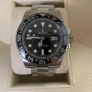 ロレックス(ROLEX)の美品 ロレックス 116710LN  GMTマスターⅡ  付属品完品‼️(腕時計(アナログ))