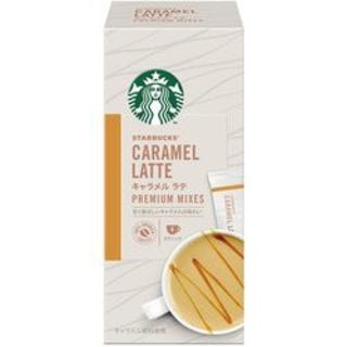 Starbucks Coffee - スターバックス プレミアム ミックス キャラメルラテ 1箱4袋