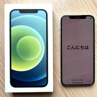 iPhone - iPhone 12 グリーン 256GB SIM フリー 保証付