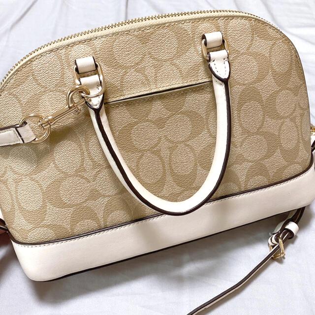 COACH(コーチ)のCOACH ハンドバッグ ショルダーバッグ ライトカーキ チョークベージュ レディースのバッグ(ハンドバッグ)の商品写真