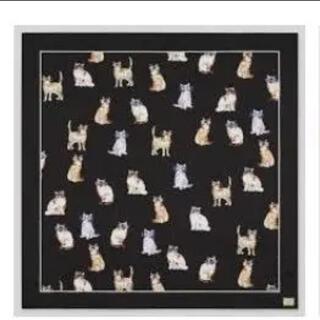 ポールアンドジョー(PAUL & JOE)の【新品★未使用】ユニクロ ×  ポール&ジョー コラボ ねこスカーフ(バンダナ/スカーフ)