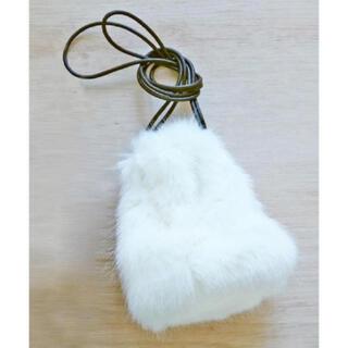 TODAYFUL - TODAYFUL エコファーショルダー ファーバッグ 巾着 秋冬 白 ホワイト