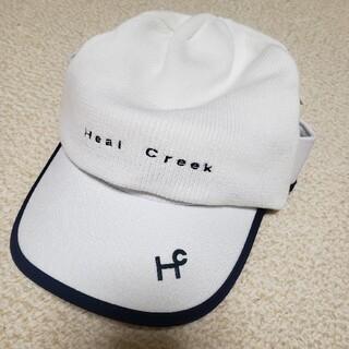 ヒールクリーク(Heal Creek)のHeal Creek ニットサンバイザー 新品(バッグ)