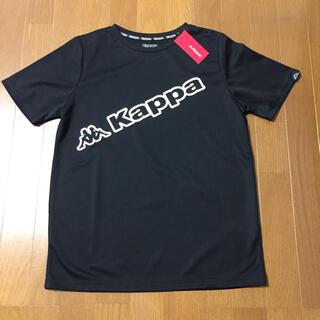 Kappa - カッパ レディースブラックTシャツ【タグ付、新品】