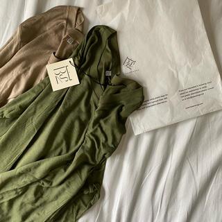 エディットフォールル(EDIT.FOR LULU)の【baserange】long sleeve tee bamboo難ありの為格安(カットソー(長袖/七分))